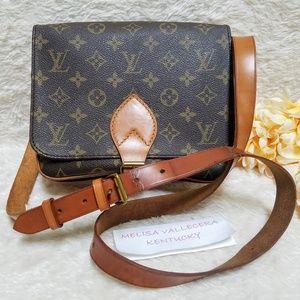 Louis Vuitton Cartouchiere MM Crossbody Monogram